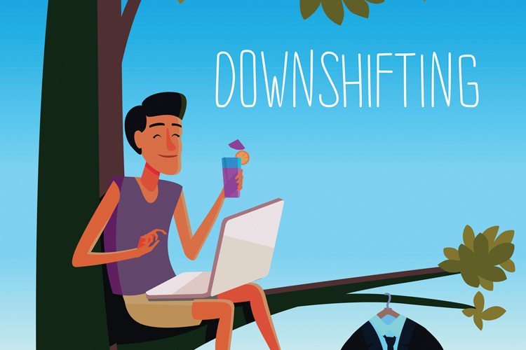 "Career ""downshifting"": How to return to the second row"